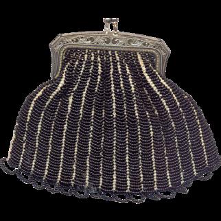 Deco Beaded Handbag