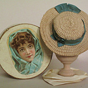 19th Century Molded Paper Hat