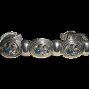 Sterling Lapis Napier bracelet with Jensen look