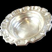 """Estate Sterling Silver 8"""" Serving Bowl - Birks"""