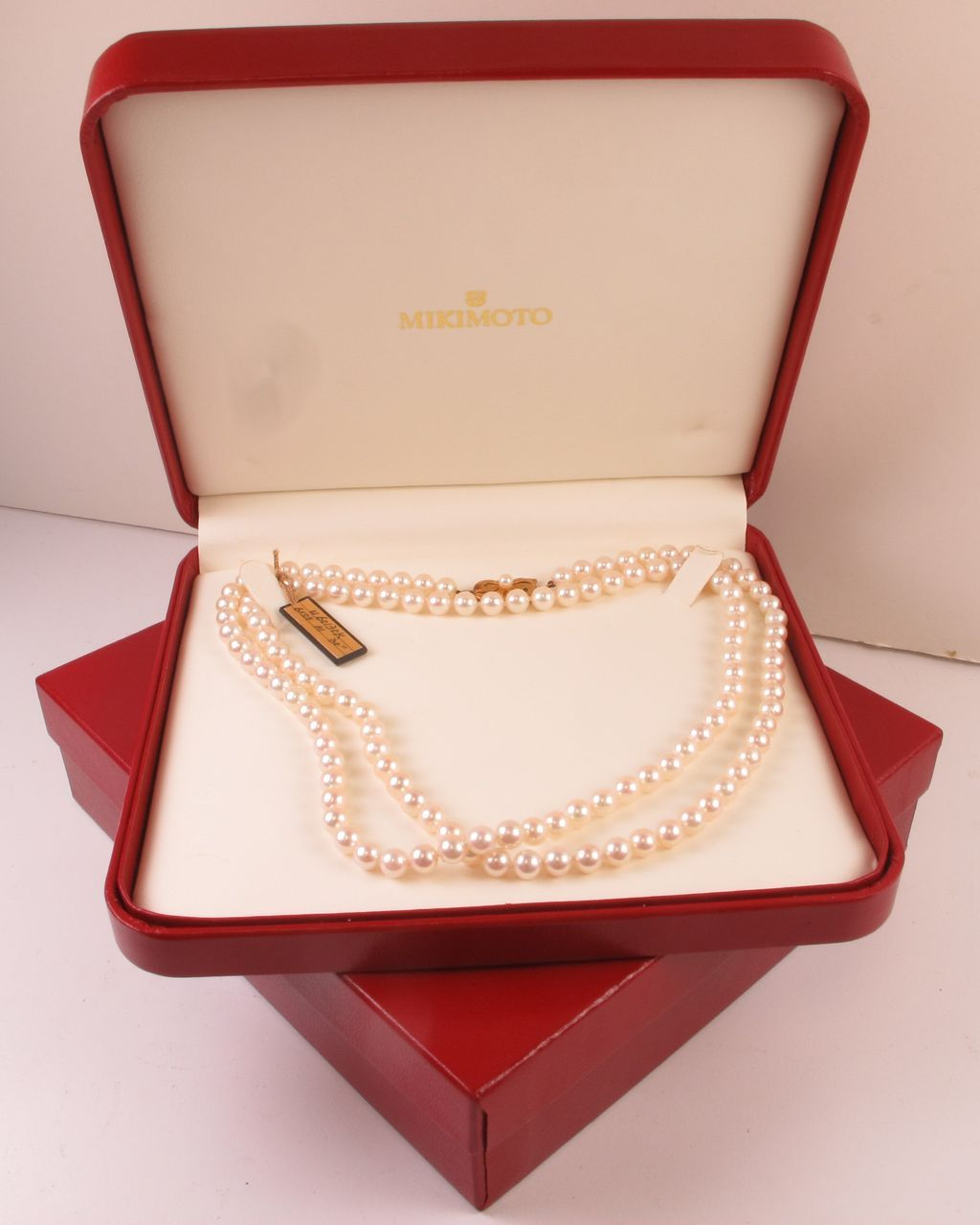 Vintage Mikimoto Cultured Pearl Strand OPERA Length, 6 mm