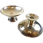 (2) Estate Sterling Silver Footed Bowls OR Candlestick Holders ~ Reed & Barton