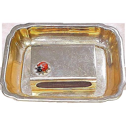 Item ID: KA Cartier Match Box & Tray In Shop Backroom