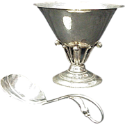 Georg Jensen Compote & Spoon Circa 1915-27