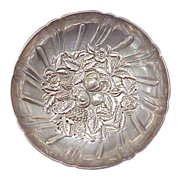 S. Kirk & Son Footed Bowl - Pattern 431, Repousse