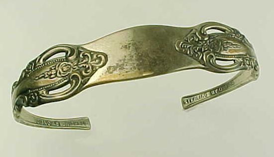 Item ID: Oneida Michelan Spoon Bracelet In Shop Backroom