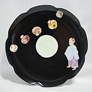 Limoges Haviland plate – Oriental man with lanterns