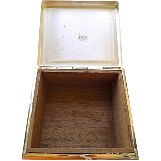 Vintage WMF Jewelry or Notion Box - Circa 1930