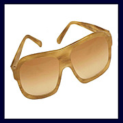 GUCCI 1158/S Blond Tortoiseshell or Horn Color Aviator Sunglasses