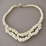 Vintage Bone Necklace