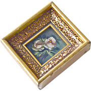 Miniature Painting  Two Roses So Tiny
