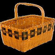 Native American Woodlands Gathering Basket