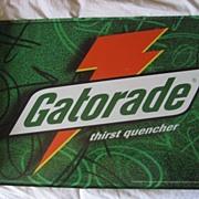 Gatorade Flange Vintage Advertising Sign