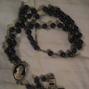 Rosary Pope Benedict VI Vintage Necklace