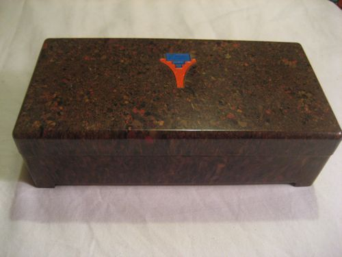 Bakelite End of the Day Jewelry Vintage Box