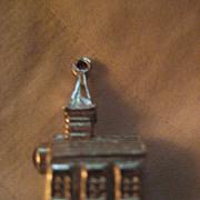 Sterling Silver Church Lord's Prayer Viewer Charm
