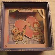 Raggedy Ann & Andy Dancing Music Box