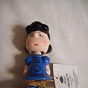 Lucy Peanuts Porcelain Nodder Doll
