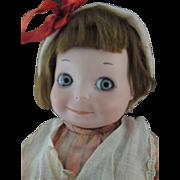 """Armand Marseille #253 Googly Toddler, 12"""" Antique German Bisque"""
