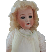 Dressel Antique Flapper Doll, 23 IN, COD Antique Bisque German Doll