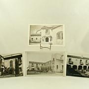 AZO Real Photo Post Cards of Casa de Manana La Jolla California