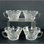 Prescut Oatmeal by Anchor Hocking Punch Cups (4)