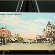 Main Street Looking East Russellville, Ark. C. T. Art Colortone