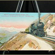 "Scene Near Phantom Bridge, CO ""The Moffat Road"" Acmegraph Card"
