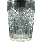 Indiana Glass EAPG Pendant Tumbler Ca. 1906