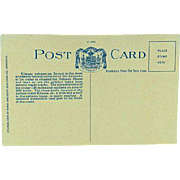 Hawaii and South Seas Curio Company Territory of Hawaii Post Card