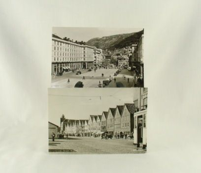 Mittet European Real Photo Post Cards of Bergen Norway