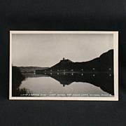 RPPC Lamp Lighting Time Lake Winona and Sugar Loaf 1939