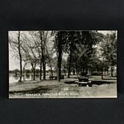 RPPC of Babcock Park in Elk River Minnesota Circa 1949