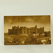 Vintage San Diego High School Sepia Toned Post Card