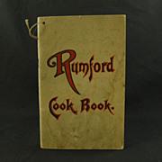 Rumford Cook Book by Fannie Merritt Farmer