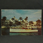 Governor's Club Charter Boat Pauline Fort Lauderdale 1952