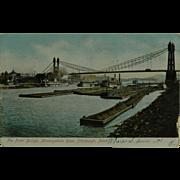 SALE Point Bridge on The Monongahela River Undivided Back
