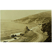 RPPC Real Photos of Coast Highway and Ridge Route California
