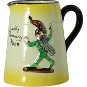 English Redware Pottery Watcombe Lucky Pixie Cream Pitcher