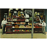 New Orleans Canal Street Pareti Brothers Fruit Stand Phostint