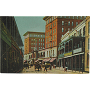 St. Charles Hotel New Orleans Rotograph Post Card