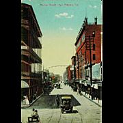 Houston Street San Antonio Texas Post Card