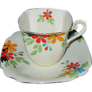 SALE Vintage Standard - Tudor Shaped Teacup Set