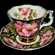 SALE Royal Albert - Provincial Flower - Alberta Rose - Teacup Set