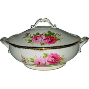Royal Albert - American Beauty - Covered Server