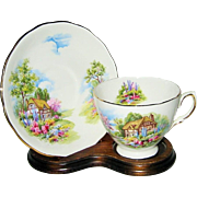 SALE Royal Vale - English Country Cottage - Teacup Set