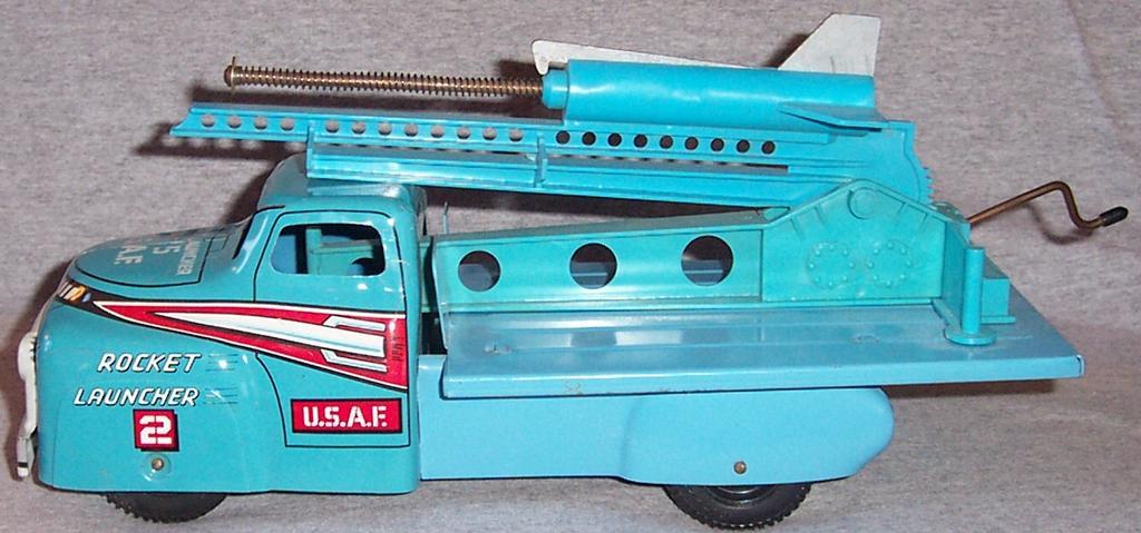 Marx U.S.A.F Rocket Launcher Truck