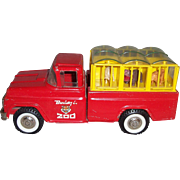 Buddy L Pressed Steel Traveling Zoo Truck
