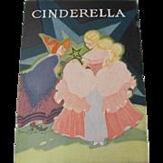 1931 Cinderella Children's Book Fern Bisel Peat
