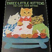 1931 Three Little Kittens Children's Book